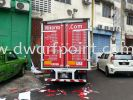 Lorry Tail Door Sticker Wrap Sticker