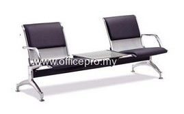 IPLC-02WT ROCHESTER LINK CHAIR WITH PU FOAM & TABLE