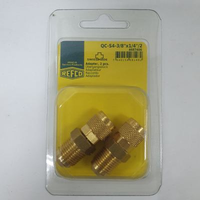 VACUUM RATED ADAPTOR WITH GASKET 3/8'' X 1/4''SAE ��2PCS/PACK)
