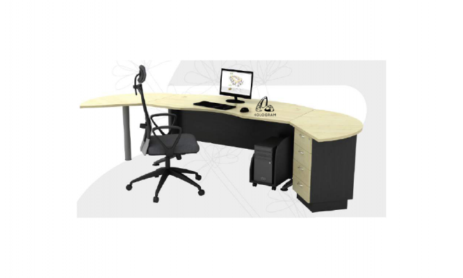 HOL-TMB55 EXECUTIVE TABLE