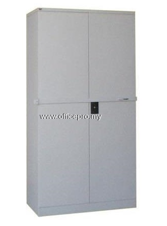 IPS-118LB FULL HEIGHT STEEL CUPBOARD WITH STEEL SWINGING DOOR & LOCKING BAR