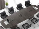 HOL-MP3BS3612 BOAT SHAPE CONFERENCE TABLE Conference Table Office Working Table Office Furniture