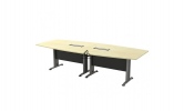 HOL-TBB30 BOAT SHAPE CONFERENCE TABLE Conference Table Office Working Table Office Furniture