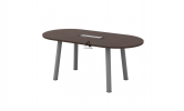 HOL-QOC18 OVAL CONFERENCE TABLE Conference Table Office Working Table Office Furniture