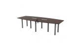 HOL-QBC30 BOAT SHAPE CONFERENCE TABLE Conference Table Office Working Table Office Furniture
