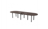 HOL-QIC36 OVAL CONFERENCE TABLE Conference Table Office Working Table Office Furniture