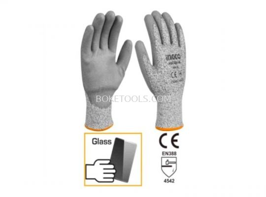 (AVAILABLE IN PIONEER BRANCH) INGCO HGCG01-L Cut-Resistance Gloves