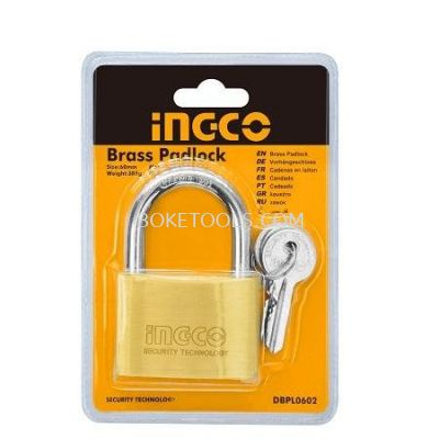 (AVAILABLE IN PIONEER BRANCH) INGCO DBPL0702 Heavy Duty Brass Padlock