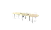HOL-BIC36 OVAL CONFERENCE TABLE Conference Table Office Working Table Office Furniture