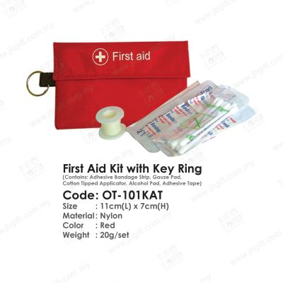 First Aid Kit with Key Ring OT-101KAT