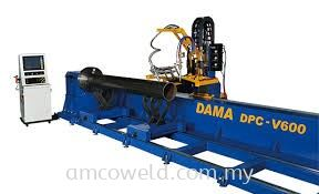 DAMA 5 AXIS CNC PIPE BEVEL CUTTING MACHINE
