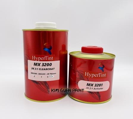 Hypertint Mx 3200 2K 2:1 Clearcoat with Hardener