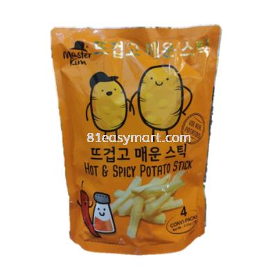Master Kim 麻辣马铃薯条 (Hot&Spicy Potato Stick)