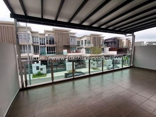 LDK BALCONY RAILING WITH GLASS