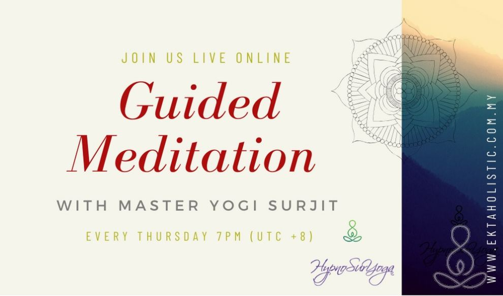Live Guided Healing Meditation By Master Yogi Surjit - Expanding Your Aura & Bio-energy Field