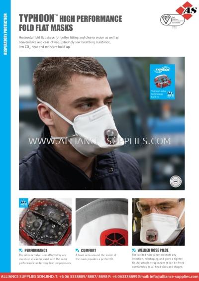 JSP Typhoon Fold Flat Masks