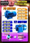 Eurox YC Induction Motor 2HP 1500RPM Drilling Machine Metal Equipment