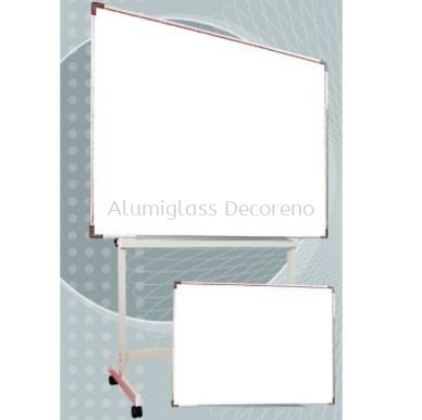 Single Sided Non Magnetic White Board