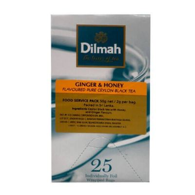 DILMAH GINGER & HONEY TEA