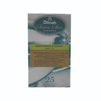 DILMAH LEMONGRASS & LEMON GREEN TEA