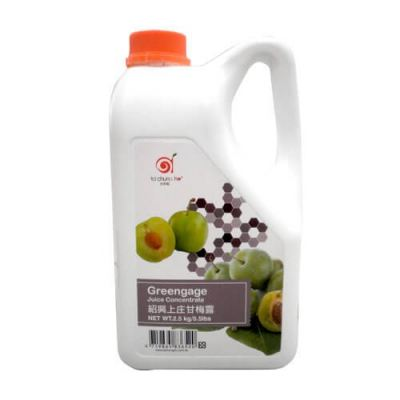 GREENGAGE (PLUM) CONC.SYRUP TW