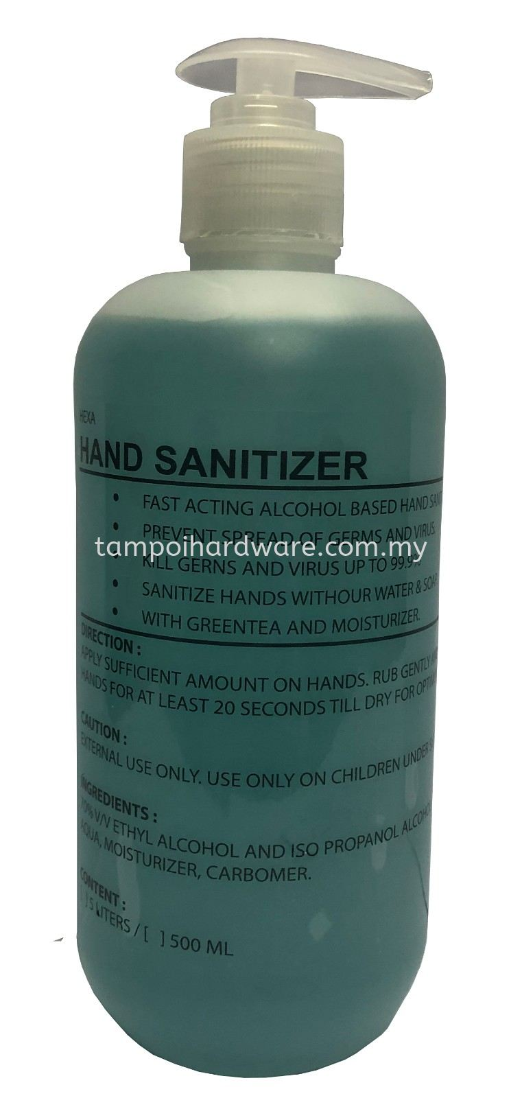 Sanitizer 500ml Detergent Hygiene and Cleaning Tools