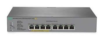 HPE 1820 8G PoE+ (65W) Switch ( Ports 1 thru 4 are POE+)