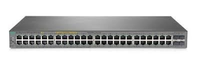 HPE 1820 48G PoE+ (370W) Switch  (Ports 1 thru 24 are POE+)