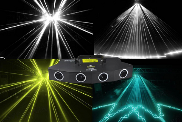 D900w 4 Head Many Color Laser
