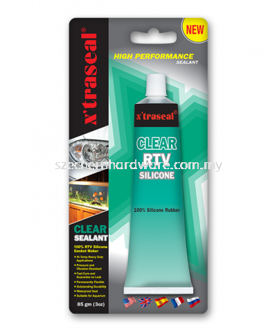X'TRASEAL SILICONE CLEAR