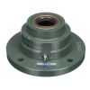 C-SFCW2211N1 Sealed Spherical Flange Blocks, Ductile End Cover, Open End, SFCW Type Heavy Duty Mounted Units Mounted Units