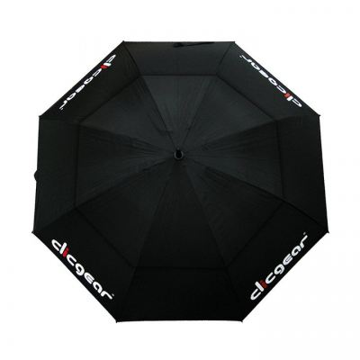 "Clicgear 68"" Over-Sized Double Canopy Umbrella Clicgear Umbrella Black"