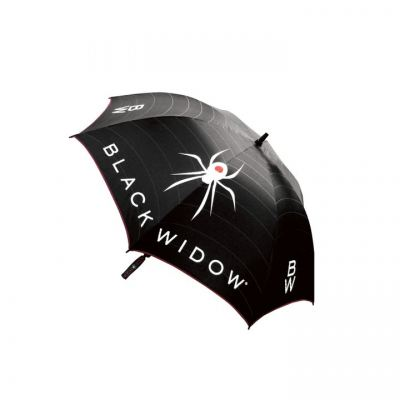 "Black Widow Umbrella 62"" Black"