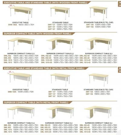 U leg-SL55 catalogue