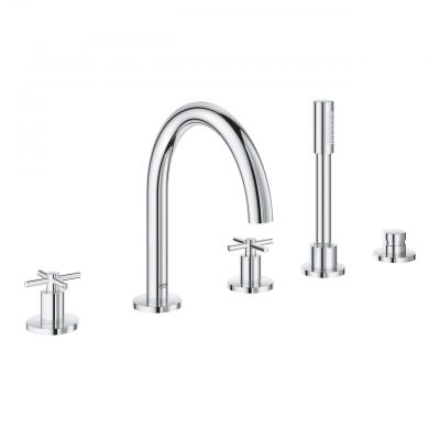 Grohe Atrio 19923003 5-Hole Bath Combination