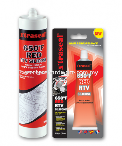 X'TRASEAL RED RTV SILICONE GASKET MAKER