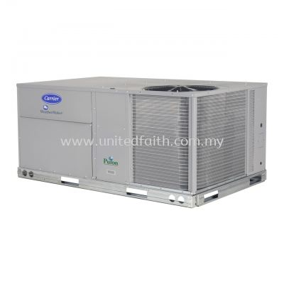 WeatherMaker® Standard Efficiency Single-Packaged Rooftop Units 48TC Gas Heating : Electric Cooling with Puron® (R-410A) Refrigerant 6 to 27.5 Nominal Tons