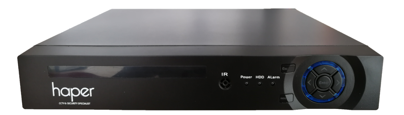 Haper H.265 5mp-Lite 5in1 8ch AI DVR