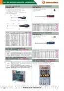 JONNESWAY GS&VDE APPROVED INSULATED SCREWDRIVERS
