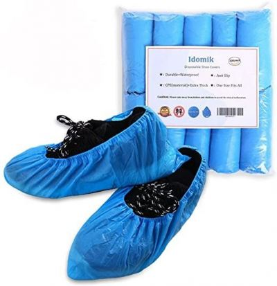 Shoe Covers  Disposable None Woven  ( pair)
