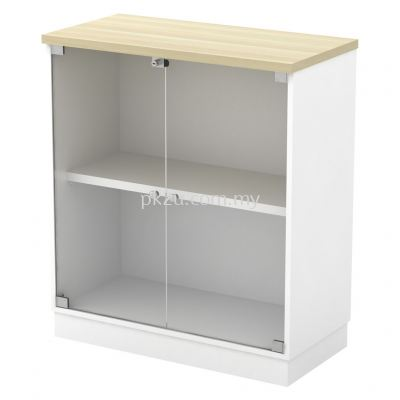 SC-YG-9 - Glass Swinging Door Low Cabinet