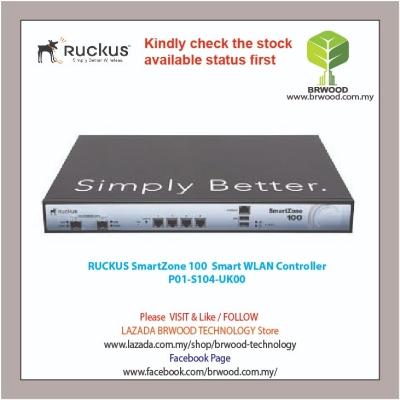 RUCKUS P01-S104-UK00: SmartZone 100 WLAN Controller for Mid-Size Enterprise