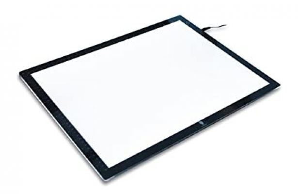Ultra slim LED light box frame