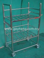 Stainless Steel Trolley 白钢推车