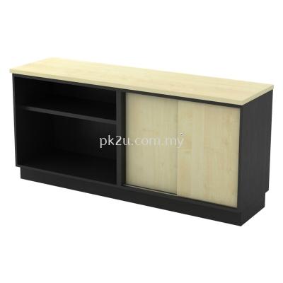 SC-YOS-7180 - Open Shelf + Sliding Door