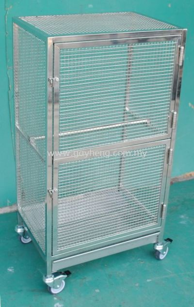 Stainless Steel Pet Cage (Bird Cage) �ֳ����� (����)