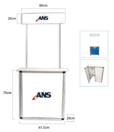 Aluminium Promotion Counter (DC113)
