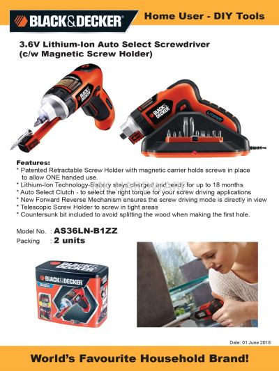 BATTERY OPERATED SCREW DRIVER