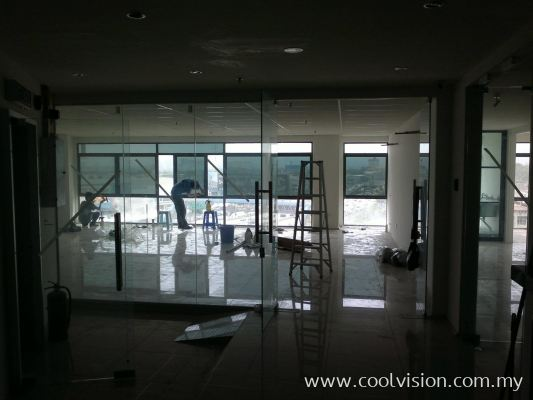 Window Film : 3Ply Dark Green