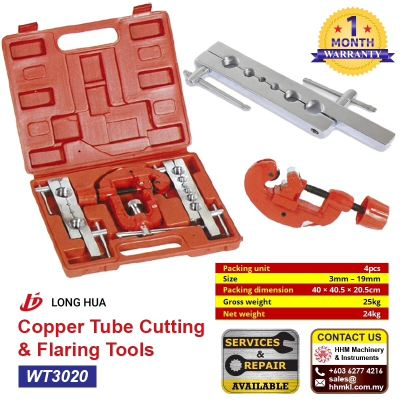 LONG HUA Copper Tube Cutting & Flaring Tools WT3020